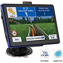 [Patrocinado] Prymax 7 Inch GPS Navigation for Car, Car GPS Navigation System with Touch Screen/ 8GB Memory/Lifetime Map Update/Driving Alarm/Voice Steering