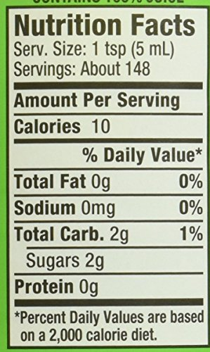 """Rose's Sweetened Lime Juice, 1 Liter (33.8 Fluid Ounces) Plastic Bottle (Pack of 2) 2 The package weight of the product is 2.6 Pound The package dimension of the product is 13.3""""L x 7.3""""W x 3.7""""H"""