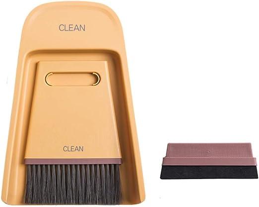 3 en 1 Mini escoba y pala para polvo, plástico, juego de cepillo ...