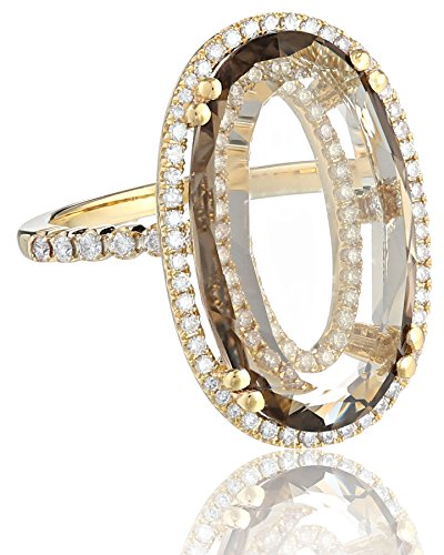 Suzanne-Kalan-Vitrine-Oval-Smoky-Quartz-and-Diamond-Bezel-Ring
