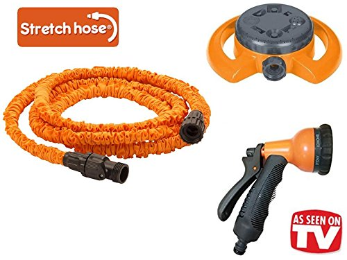 Stretch hose 75 ft with accessories
