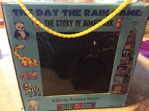 The Story of Noahs Ark Stacking Blocks WJ Fantasy The Day the Rain Came
