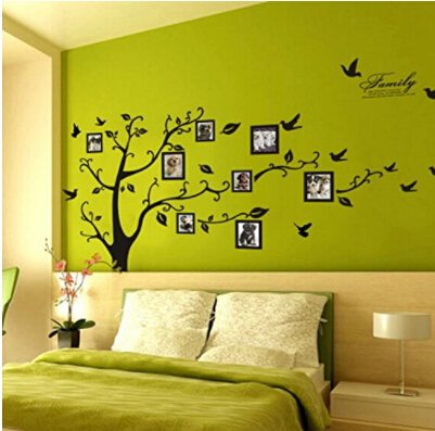 SOURBAN Memory Family Tree Photo Picture Frame Wall Decals Wall Stickers Decorations by SOURBAN