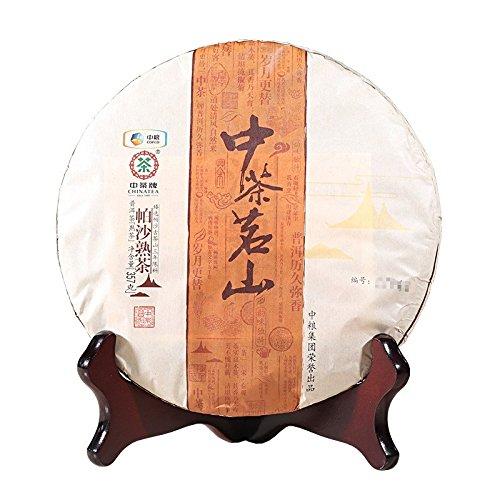 Yunnan Pu'er Tea Tea 2017 Laoshan Pasa Cooked Tea 357g/cake Pu'er Tea 云南普洱茶 中茶 2017 茗山帕沙 熟茶357g/饼 普洱熟茶 云南普洱茶 中茶 茗山帕沙 熟茶357g/饼 普洱熟茶 puerh tea puer tea by 中茶