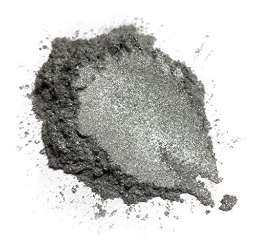 Effect Pigment - BLACK DIAMOND PIGMENTS 42g/1.5oz Liquid Metal Pearl Mica Powder Pigment (Epoxy,Resin,Soap,Plastidip)