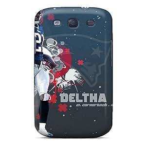 Excellent Design New England Patriots Phone Case For Galaxy S3 Premium Tpu Case