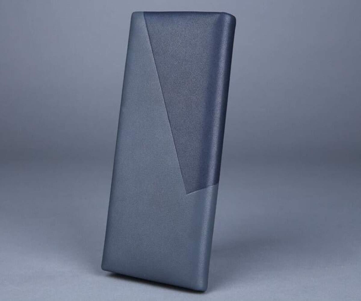 Size, cm 19 2 10 2019 Business Casual Multi-Function Portable Clutch Color Durable Suitable for Mens Long Color : Gray Blue, Size : 19210cm Gray-Blue Aishanghuayi Wallet