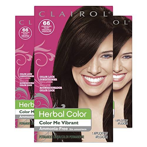 - Clairol Herbal Essences Color, Shade 066 Dark Brown, 3 Count