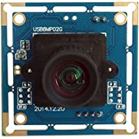 ELP Camera Module High Resolution 8megapixel Webcam USB with 3.6mm Lens