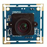 ELP Camera Module High Resolution 8megapixel Webcam USB with 3.6mm Lens