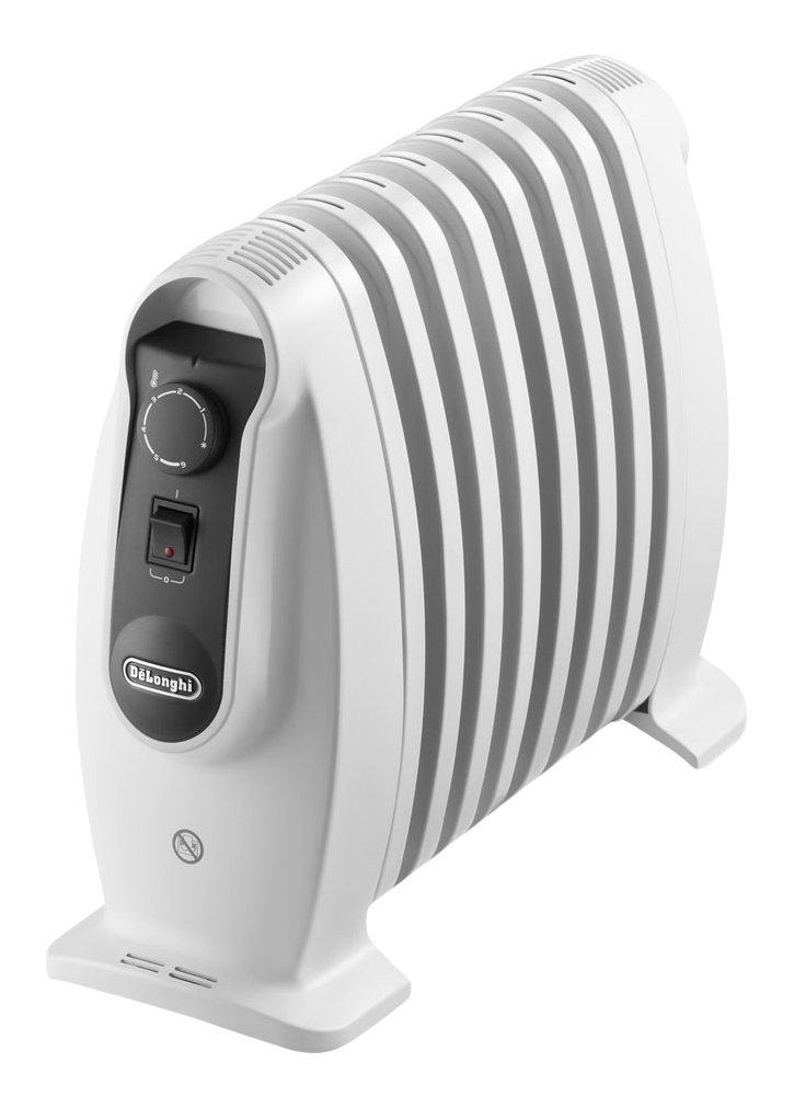 Delonghi TRNS 0808M - Radiador 800 w, ajustes termostato, asas, protección anti heladas, blanco: Amazon.es: Hogar