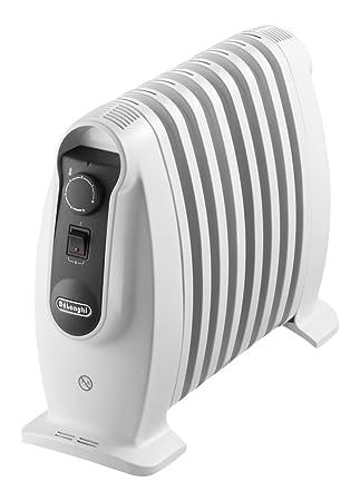 Delonghi TRNS 0808M - Radiador 800 w, ajustes termostato, asas, protección
