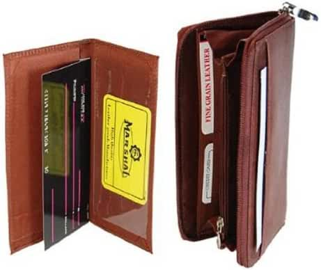 Marshal High End Leather Checkbook Cover/Wallet #7575CF