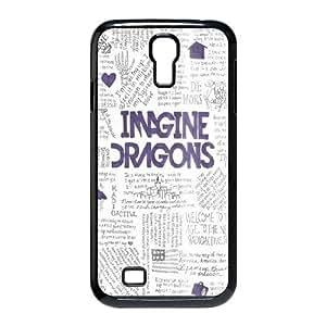 YUAHS(TM) Custom Case for SamSung Galaxy S4 I9500 with imagine dragons YAS930493