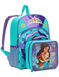 Disney Princess Elena Full Size Backpack w/ Detachable Lunch Bag