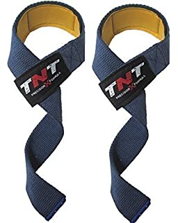 /'STEALTH/' Original GEL PADDED Non-Slip Weight Lifting Straps Pro Padded Weight