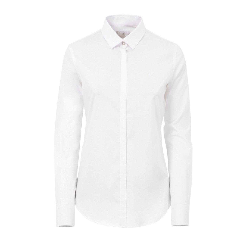 CONTE OF FLORENCE California Camisa Regular 00001, bianco