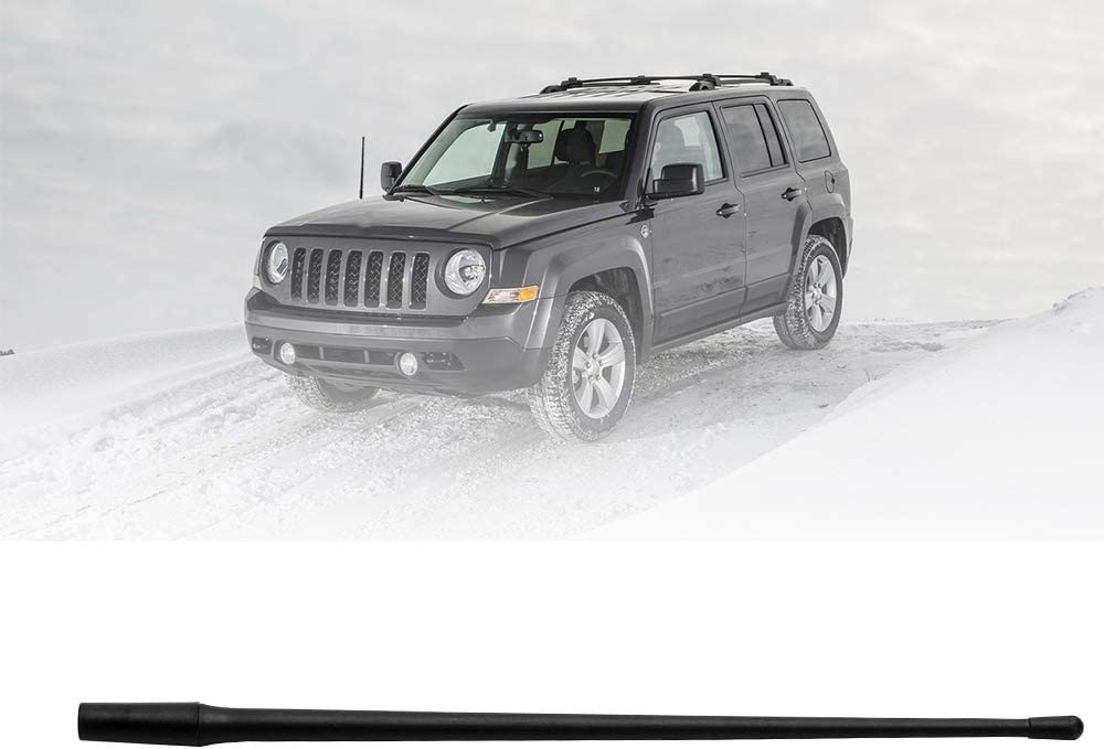 JAPower Replacement Antenna Compatible with Jeep Patriot 2007-2017 4 inches-Blue