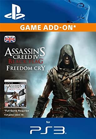 Assassin S Creed Iv Black Flag Freedom Cry Ps3 Psn Code Uk