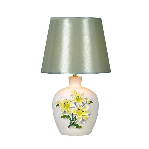Escritorio Jardín Creativo Tallado lámpara de Mesa, lámpara de ...