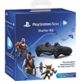PlayStation Now Starter Kit Black (PS4 Controller + USB Cable + PSN one month) by Sony Computer Entertainment