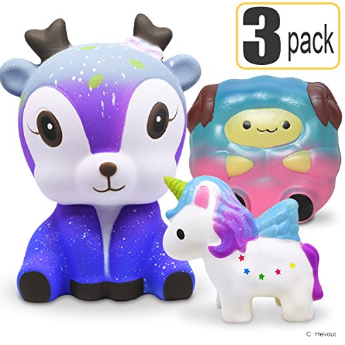 Hevout Squishie Cheap Squishies Pack Cute Squishys Animals Toys Boys Girls Toys Stress Relief Toy