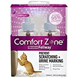 Comfort Zone 4-Pack with Feliway for Cartridge 1.62-Fluid Ounce Refills