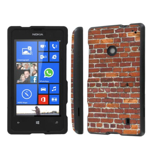 Price comparison product image NakedShield Nokia Lumia 635 (Brick Wall) Total Hard Armor Protection LifeStyle Phone Case