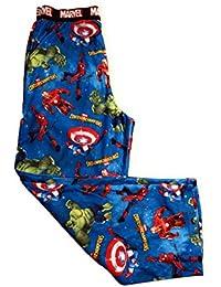 Boys Marvel Contest of Champions Hulk Spiderman Capt America Ironman Lounge Sleep Pajama Pants