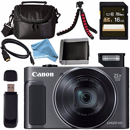 Canon PowerShot SX620 HS Digital Camera  1072C001 + Sony 16G