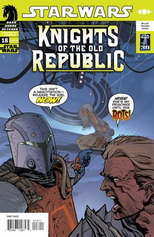 Star Wars - Knights Of The Old Republic #18: Nights of Anger Part Three (Dark Horse Comics)