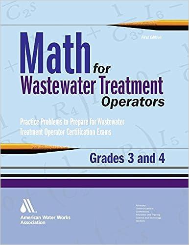 Amazon.com: Math for Wastewater Treatment Operators Grades 3 & 4 ...
