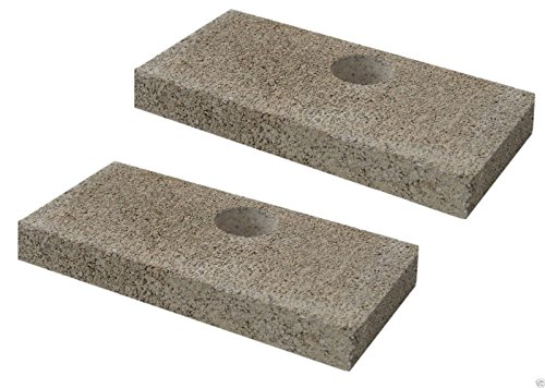 Replacement Fire Brick : Quadrafire replacement brick with holes pkg of srv