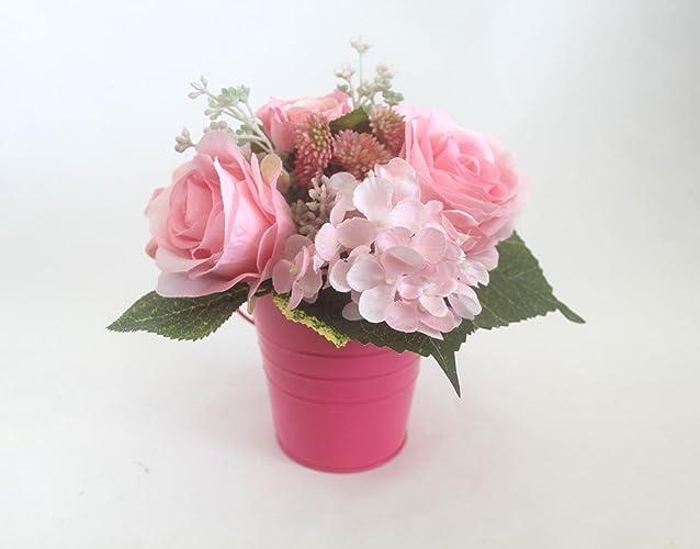 Amazon Com Spring Table Centerpiece Roses Arrangement Easter