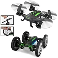 Dwi Dowellin Flying Car RC Quadcopter Four-axis Aircraft and Off-road Remote Control 2 in 1 Multifunctional drone X9P