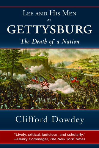 Lee and His Men at Gettysburg: The Death of a Nation cover