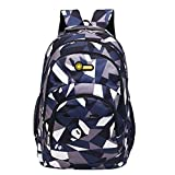 Girls Boys Backpack Bag Teenage School Camouflage Print Students Double Shoulder Bags