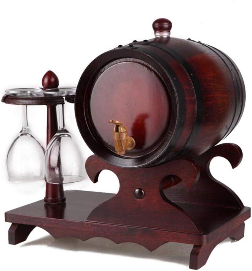 ウッドオークワインバレル、木製ウイスキーバレルディスペンサー、ライナーバレルなしウイスキーの熟成に適していますバレルビールラムポート