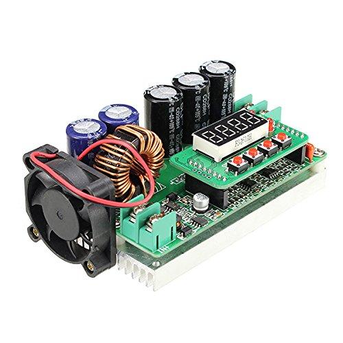 600W Digital Control DC-DC Adjustable Step Up Module Constant Voltage Current Solar Charging