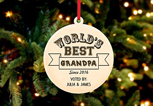 Personalized Christmas Ornament- World's Best (Star Wars History Timeline)