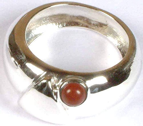Sponge Coral Ring - Sterling Silver Ring Size (Sterling Silver Sponge Coral)
