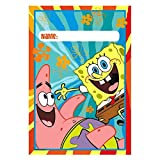 SpongeBob Classic Party Loot Bag, Multicolor