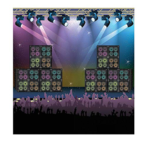 - Fun Express Rock Star Vacation Bible School & Party Backdrop Banner (2-Pack)