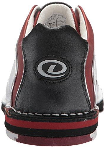 LE SST 8 Red Black Shoes Bowling Dexter Women's White awSEqt