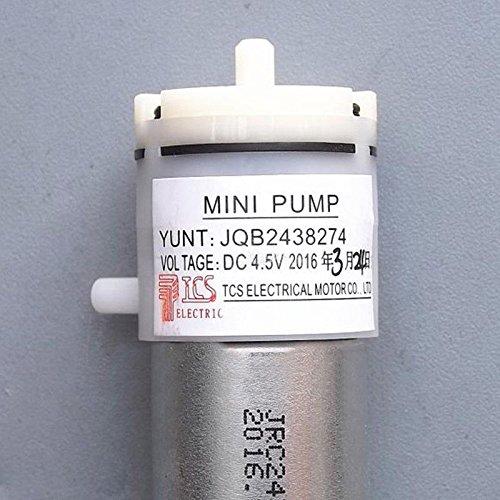 WILLAI DC 3V-6V 5V Micro 370 Motor Air Pump Mini Self-Priming Breast Vacuum Pump For Fish Tank
