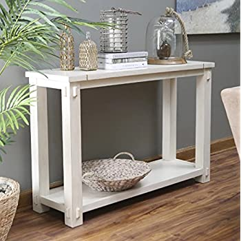 Amazon Com Westcott Console Table For Entryway Made Of