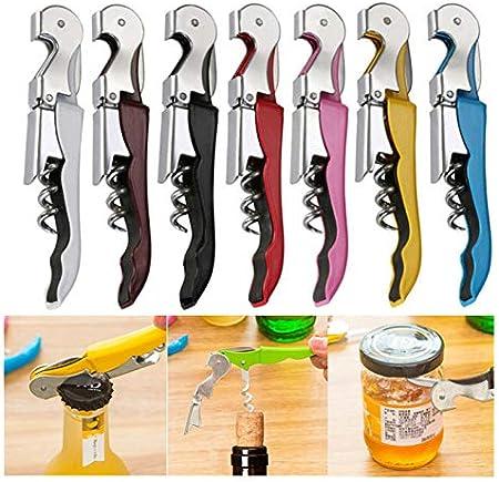 XUENING Nueva Botella Creativa abrelatas de Acero Inoxidable de Acero Inoxidable Botella de Cerveza de Cerveza Puede Remover para Herramientas de Cocina Barra de Accesorios (Color : Verde)