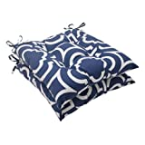 Pillow Perfect Indoor/Outdoor Carmody Tufted Seat Cushion, Navy, Set of 2 Review