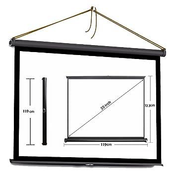 Tiangtech® - Pantalla plegable para proyector de cine en casa ...