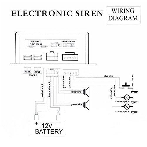 deng 200w car alarm fire loud speaker pa siren horn system. Black Bedroom Furniture Sets. Home Design Ideas